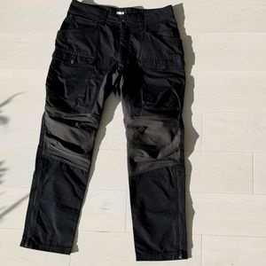 H&m hiking cargo pants ankle zip
